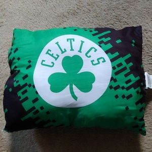 Celtics pillow